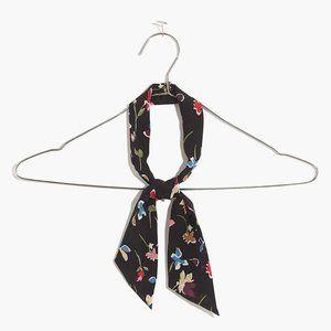 [NWT] Madewell Floral Silk Scarf